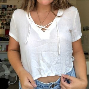 Brandy Melville Off-White Blouse
